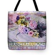 Hydrangea Anemones Tote Bag