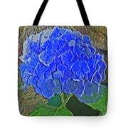 Hydrangea Blues Tote Bag