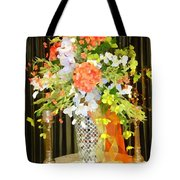 Hydrangea Centerpiece Artistic Tote Bag