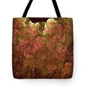 Hydrangea Fractal Blossoms Tote Bag