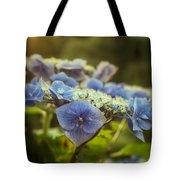 Hydrangea In Fading Light Tote Bag
