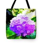 Hydrangea In Watercolor Tote Bag
