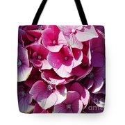 Hydrangea Lavender Petals Tote Bag