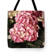 Hydrangea On The Veranda Tote Bag