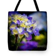 Purple Blue Hydrangea, Corona Del Mar California Tote Bag