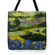 Hydrangea Valley Tote Bag