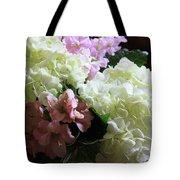 Hydrangeas Bouquet Tote Bag