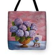 Hydrangeas From My Garden Tote Bag