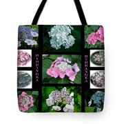 Hydrangeas On Parade Tote Bag