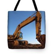Hydraulic Excavator Tote Bag