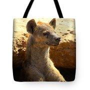 Hyena In Den Tote Bag