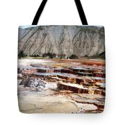 Hymen Terrace Yellowstone National Park Tote Bag