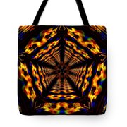 Hyper-jump Rainbow Portal No.5 Tote Bag