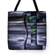 Hypercube Reflections Tote Bag