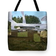 Hyperscape Tote Bag