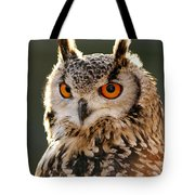 Hypnoteyes  Eurasian Eagle Owl Tote Bag