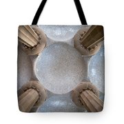 Hypostyle Room Ceiling In Park Guell Tote Bag