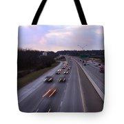 I-75 Knoxville At Dusk Tote Bag