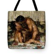 I Adore You Tote Bag by Kurt Van Wagner