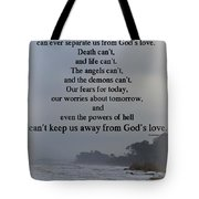 I Am Convinced Tote Bag by Sandra Clark
