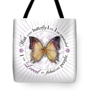 I Am Loved By Fabulous People Tote Bag
