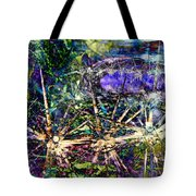 We Are Nonphysical Spiritual Energy, Each Part Of The Unity Of Total Divine Consciousness- Winter 3 Tote Bag