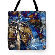 I Am.. The Long Drought  And The Hard Rain To Follow That Quenches Our Parched Souls Of...- Winter 2 Tote Bag
