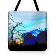 I Am And You Are The Moonset  Acknowledging And Accepting Our Past Mistakes- Autumn 1 Tote Bag