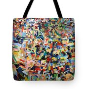I Believe This And Understand It Fully Well 17 Tote Bag by David Baruch Wolk