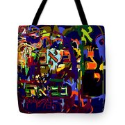I Believe With Complete Faith In The Coming Of Mashiach 3 Tote Bag by David Baruch Wolk