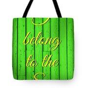 I Belong To The Sea Tote Bag