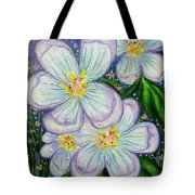 I Bloom With Courage Tote Bag
