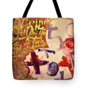 I Carry You In My Heart 2/4 Tote Bag