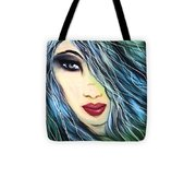I Did Wait For You Tote Bag by Hilda Lechuga