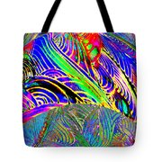 I Dreamed Of Neon Skies Tote Bag