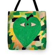 I Eye Love Green Tote Bag