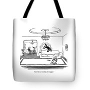 I Feed The Cat Nothing But Veggies Tote Bag