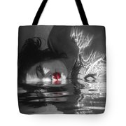 I Float On Red Tote Bag