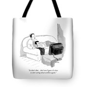 I Guess It's Time To Start Caring About Zombies Tote Bag