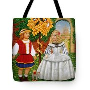 I Had A Little Nut Tree, 1995 Oils And Tempera On Panel Tote Bag
