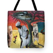 I Had Longed For Something That Would Make Me Think... Tote Bag