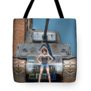 I Have A Tank.  Your Argument Is Invalid Tote Bag