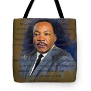 I Have Been To The Mountain Tote Bag