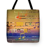 I Have Music In My Heart Tote Bag