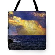 I Have Seen Fire And I Have Seen Rain Tote Bag