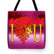 I Heart U Tote Bag