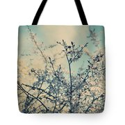 I Hope Spring Will Be Kind Tote Bag