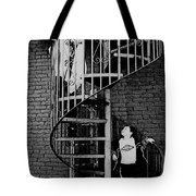 I Look Up To You Tote Bag