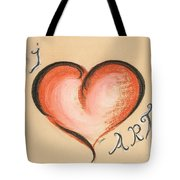 I Love Art Tote Bag