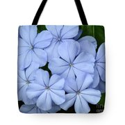 I Love Blue Flowers Tote Bag